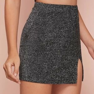 SHEIN Other - BRAND NEW Glittery skirt